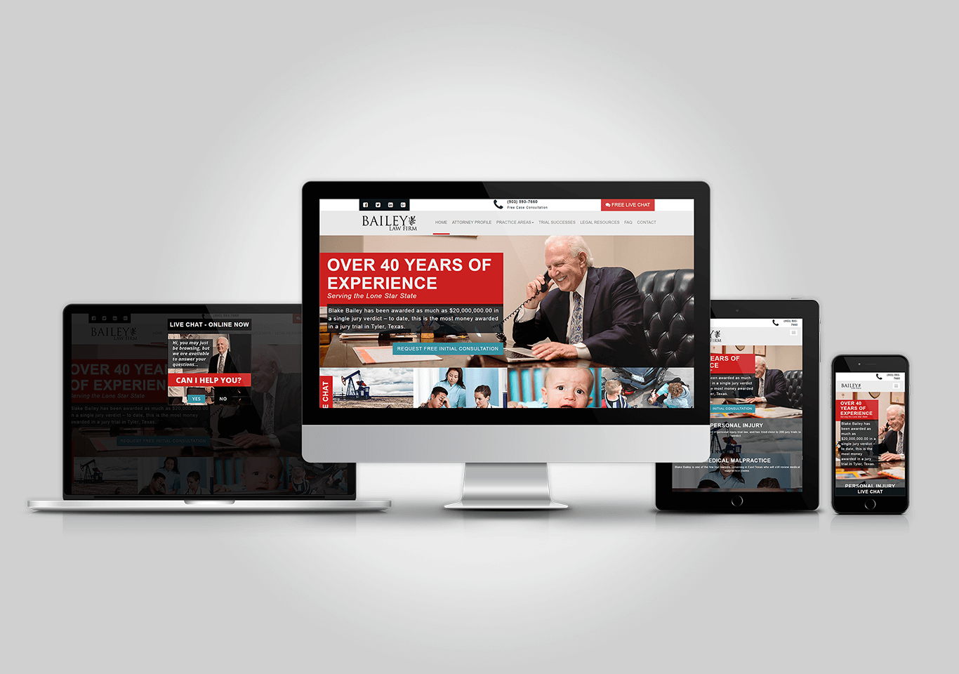 Bailey-Law.com Responsive Website