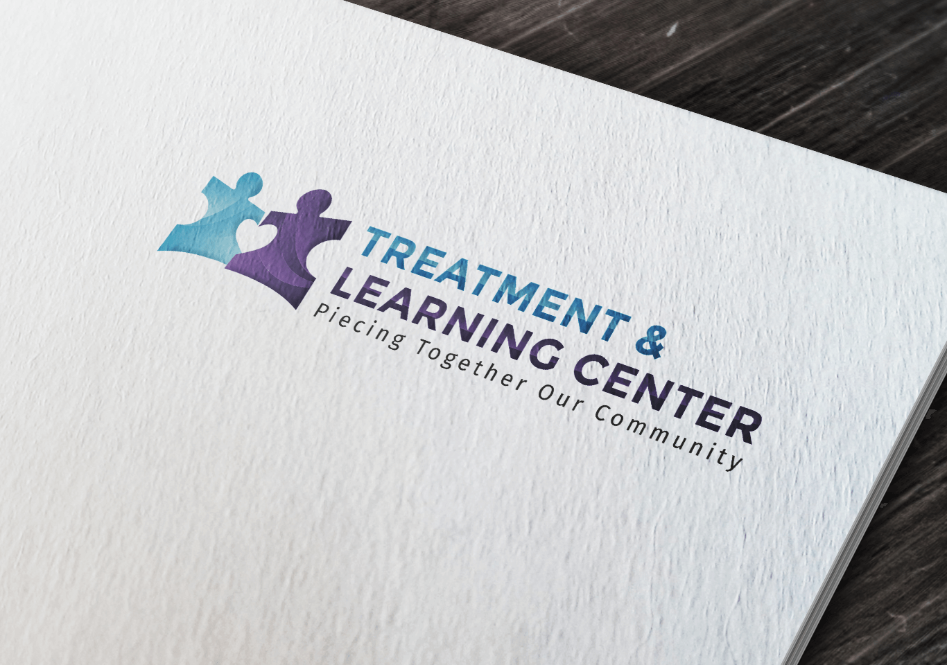 Treatment & Learning Center Branding
